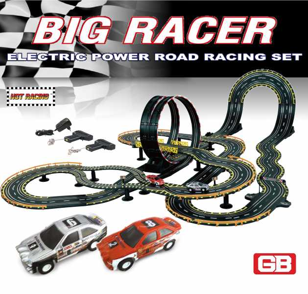 6626 Electric Racer Road Racing Set