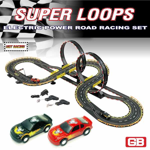 6656 Electric Super Loops Road Racing Set